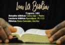 Lea La Biblia, Programa 1684