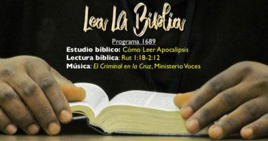 Lea La Biblia, Programa 1689