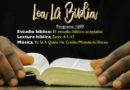 Lea La Biblia, Programa 1699