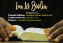 Lea La Biblia, Programa 1721