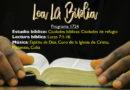 Lea La Biblia, Programa 1724