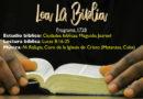 Lea La Biblia, Programa 1728