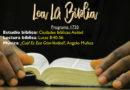 Lea La Biblia, Programa 1730