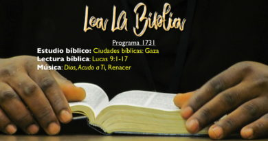 Lea La Biblia, Programa 1731