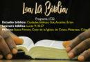 Lea La Biblia, Programa 1732
