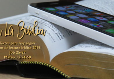 Lectura bíblica para el 18/1/19