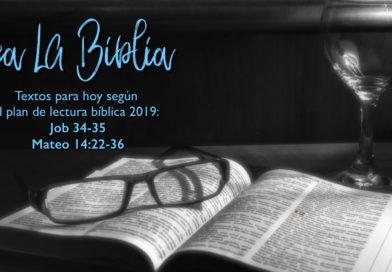Lectura bíblica para el 22/1/19